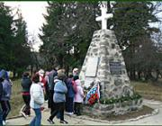 Az I. világháborúban elesett osztrák-magyar és orosz katonák emlékműve