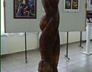 Matl Péter Hit, Remény, Szeretet c. alkotása az ungvári kiállításon
