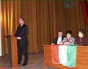 Técső: dr. Brenzovics László, ifj. Sari József, Bökényi Borbála és Bányász Erzsébet