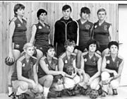 A beregszászi női kézilabdacsapat fénykorában
