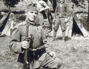 Magyar katona valahol Ukrajnában