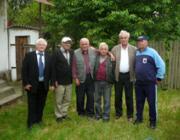 Régi bajtársak 50 év után: Czurkó Tibor, Zavagyák András, Végső Sándor, Jevcsák Miklós, Gortvay Tibor és Szirkó Miklós