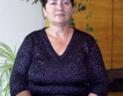 Gerzánics Ilona, a KMKSZ alapszervezeti elnöke