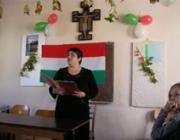 Lévy Karina felszólalása a megemlékezésen
