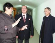 Orosz Ildikó elnök asszony, Németh Zsolt államtitkár és Majnek Antal püspök