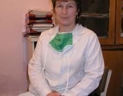 Dr. Szidej Éva, a Nagyszőlősi Járási Kórház belgyógyásza