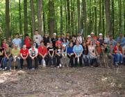 A természetismereti tábor résztvevői