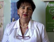 Dr. Gricenko Okszána, a Nagyszőlősi Járási Kórház gasztroenterológusa
