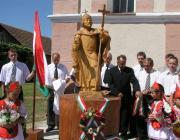 A tiszasalamoni Szent István-szobor