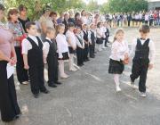Megszólalt az első csengő a zápszonyi iskolában