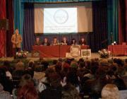 Kovács Miklós köszönti a közgyűlés résztvevőit