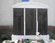 A II. világháborúban elesett katonák és a Gulag áldozatainak emlékműve