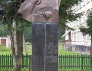 Ivan Olbracht szobra Alsókalocsán