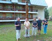 Brenzovics László, Tóth István, Tárnok Mária, Németh Zsolt és Orosz Ildikó