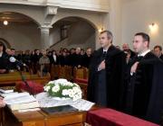 Az újonnan felszenteltek: Sápi Zsolt és Iván Gusztáv