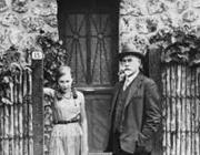 Anton Gyenyikin lányával, Marinával
