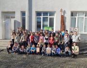 A rovásírásverseny résztvevői (fotó: cserkesz.com.ua )