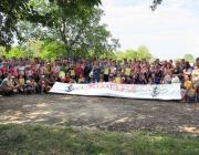 A görögkatolikus ifjúsági spornap résztvevői