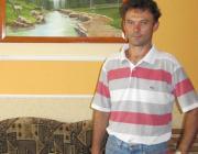 Gerő Árpád és egyik festménye