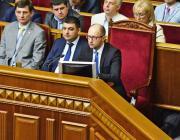 Jacenyuk maradt a miniszterelnök – a parlament nem fogadta el a kormányfő lemondását