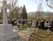 Az egyházak képviselői megáldják a temetőt