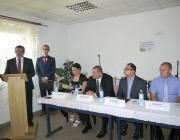 Kis Pál, Csonkapapi polgármestere köszöni meg a segítséget