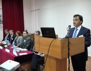 Dr. Latorcai Csaba mond köszöntőt