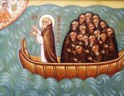 Szent Brendan és szerzetestársai az óceánon