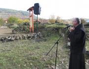 Kapisztrán atya rendhagyó történelemórát tart