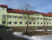 A hospice épülete