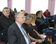 A KMKSZ-frakció a tanácsülésen