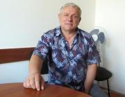 Ivan Martin, a Kárpátaljai  Megyei Állami Környezetvédelmi Felügyelőség vezetője