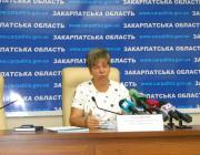 Hanna Szopkova, a megyei oktatási és tudományos főosztály igazgatója